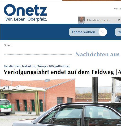 Das neue Oberpfalznetz